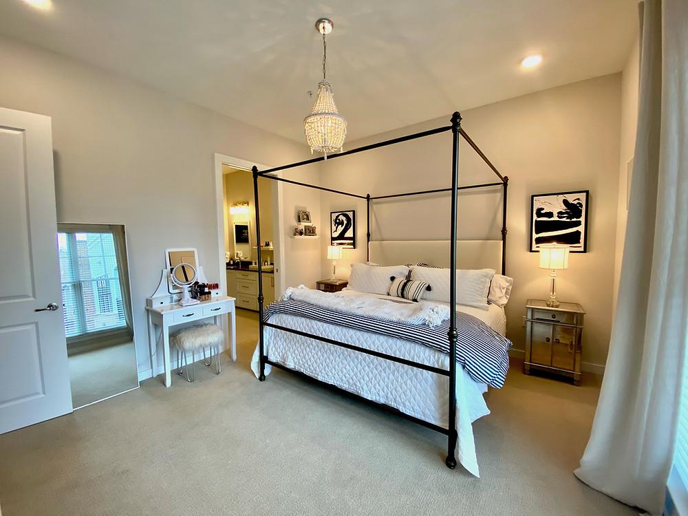 Interior Design, Apartment Style, Master Bedroom