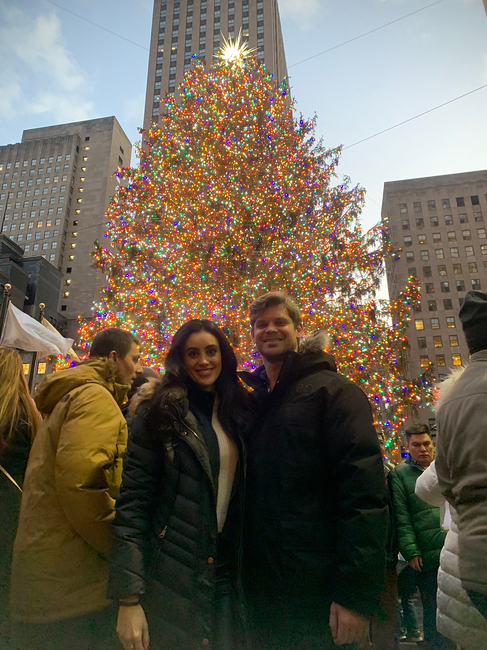 Rockefeller Christmas Tree- Things to do in NYC over holiday