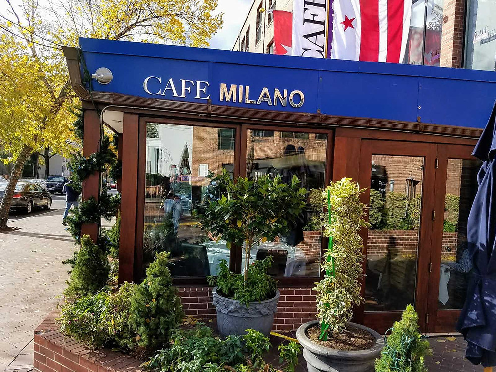 Weekend in D.C. Cafe Milano