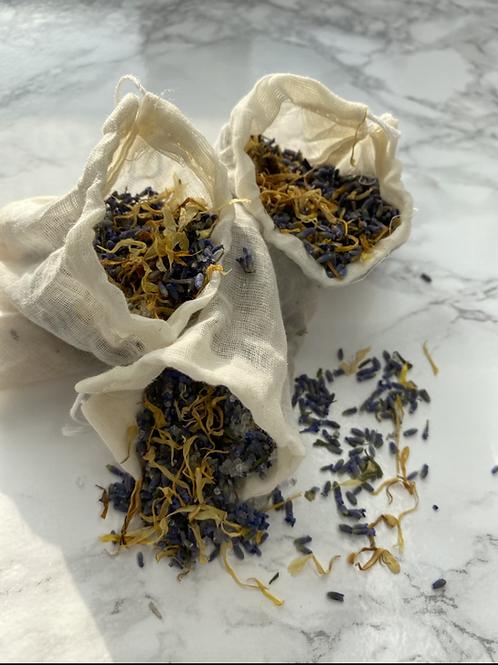 Lavender Bath Soak Bag