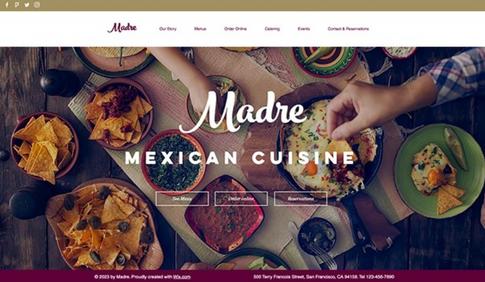 メキシカンレストラン