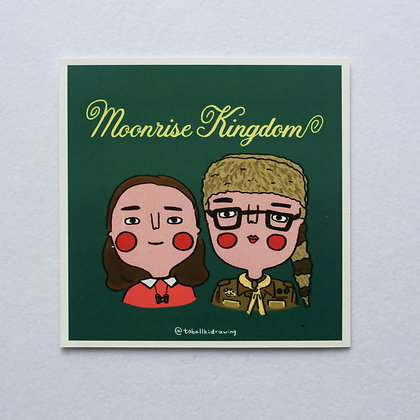 MOONRISE KINGDOM / sticker