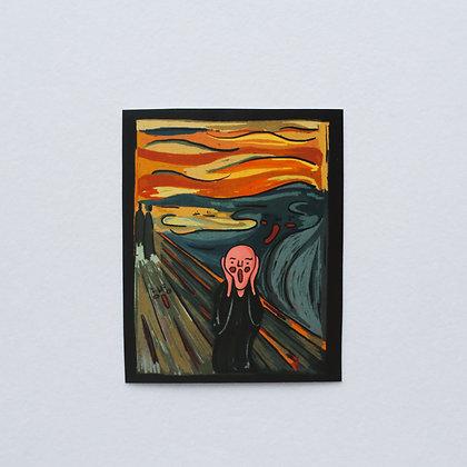 THE SCREAM /sticker