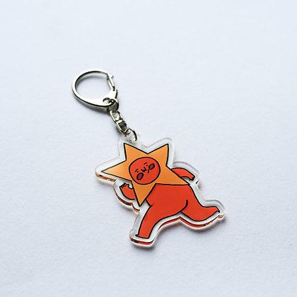 星人 / acrylic keychains