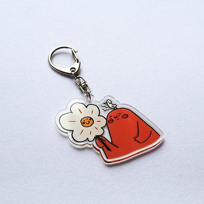 像一朵朵花笑笑的 / acrylic keychains