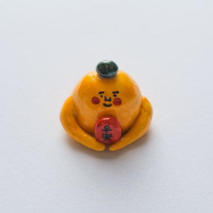 肥野平安佛01 / handmade ceramic figure