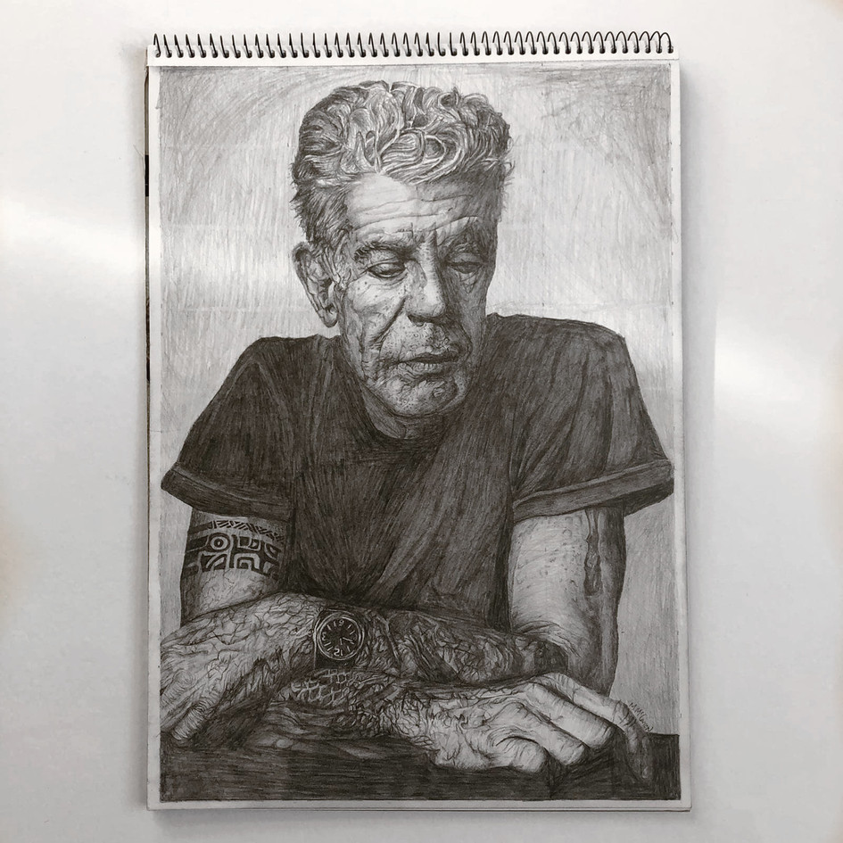 Anthony Bourdain on A3
