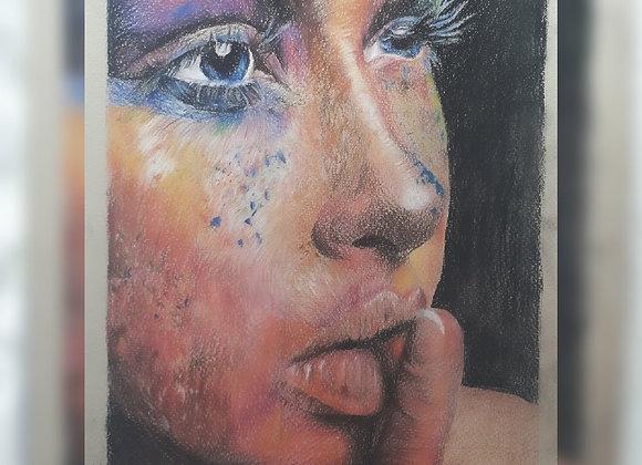 A3 Colour portrait Single Person