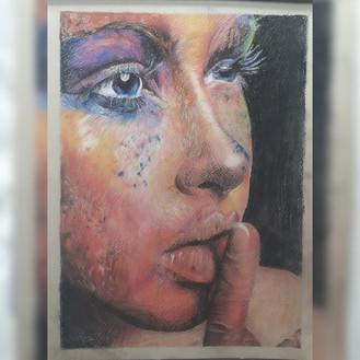 Colour Portrait on A4
