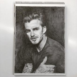 David Beckham on A3