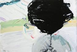 huile, pastel sur toile 130x97