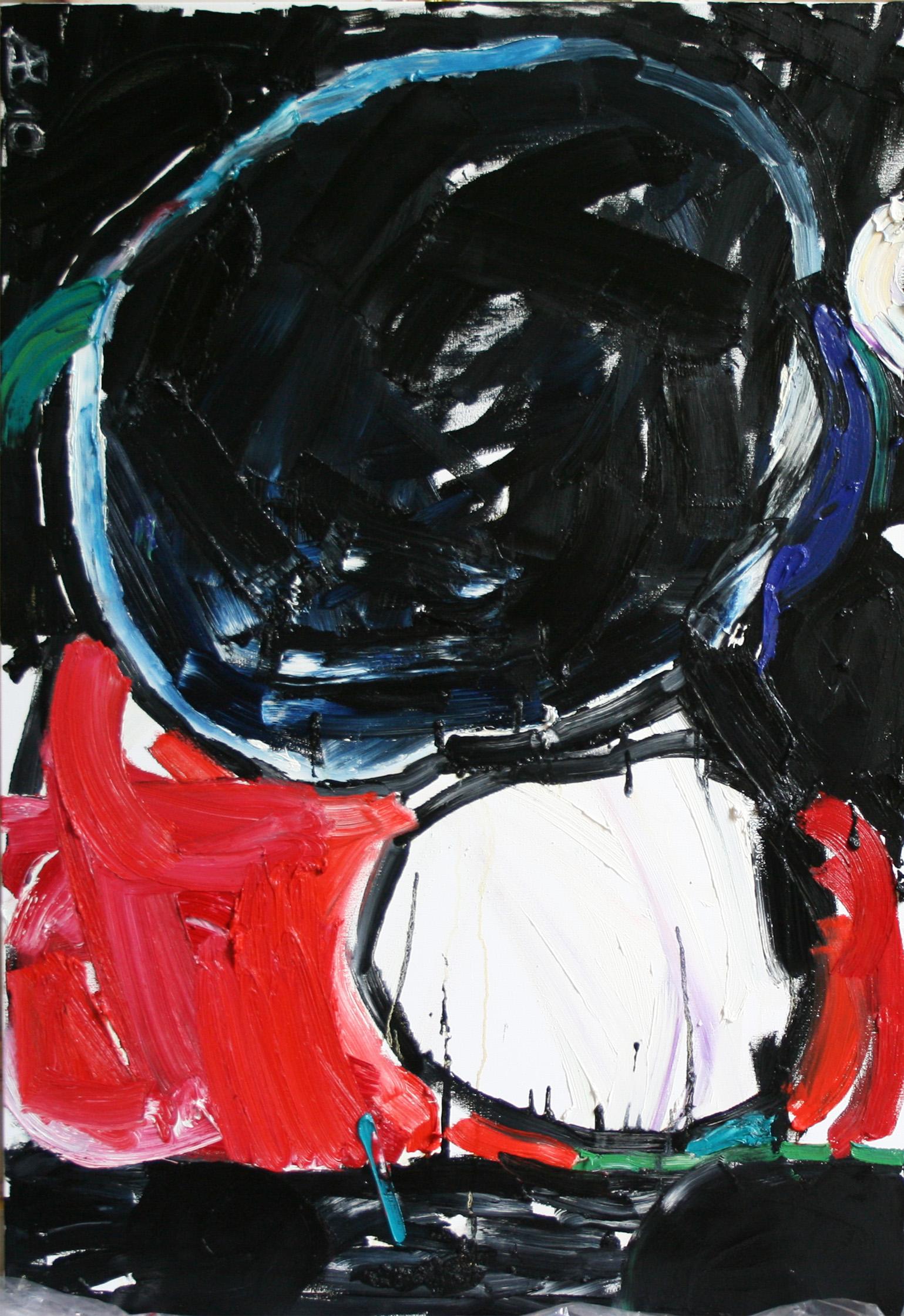 huile sur toile, 130 x 89