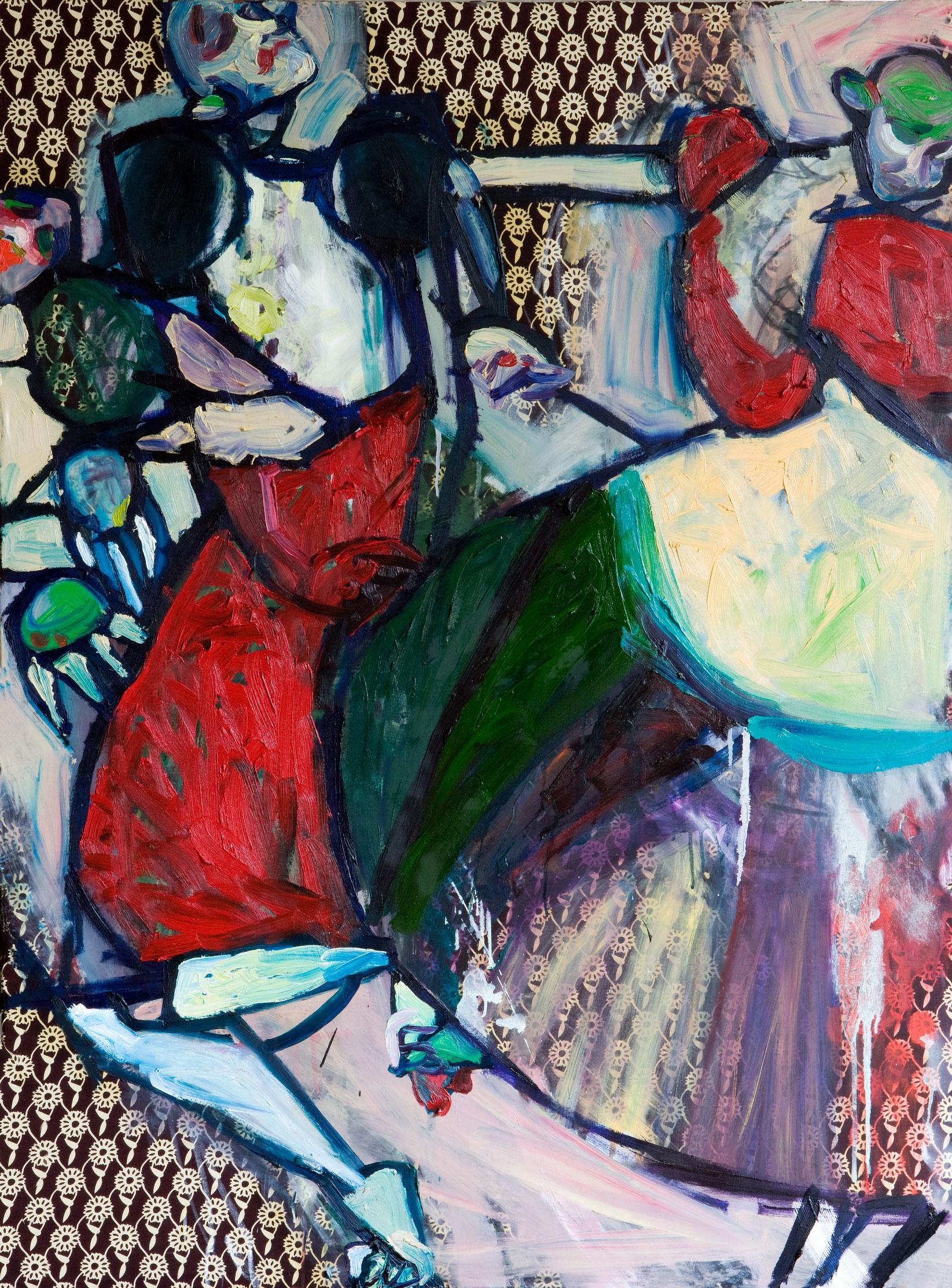 Danse4/huile sur toile/130x97