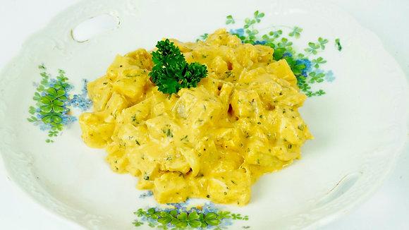 Cod with Double Cream (Bacalhau com Natas)