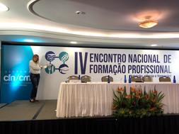 IV ENCONTRO NACIONAL DE FORMAÇÃO PROFISSIONAL