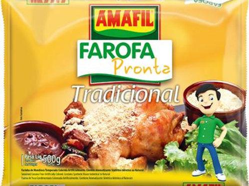 Farofa Pronta Amil 500g