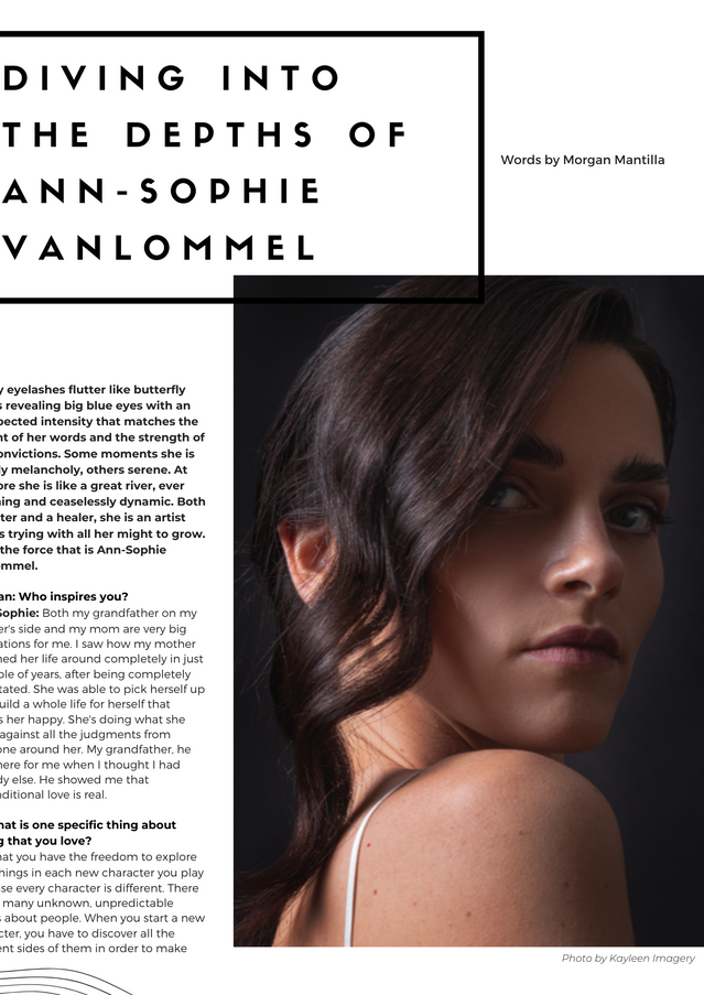 Diving Into The Depths Of Ann-Sophie Vanlommel