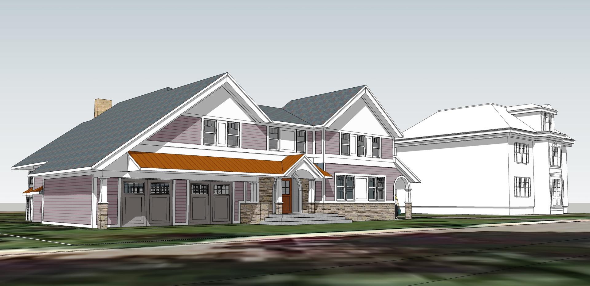 West Roxbury House Proposal