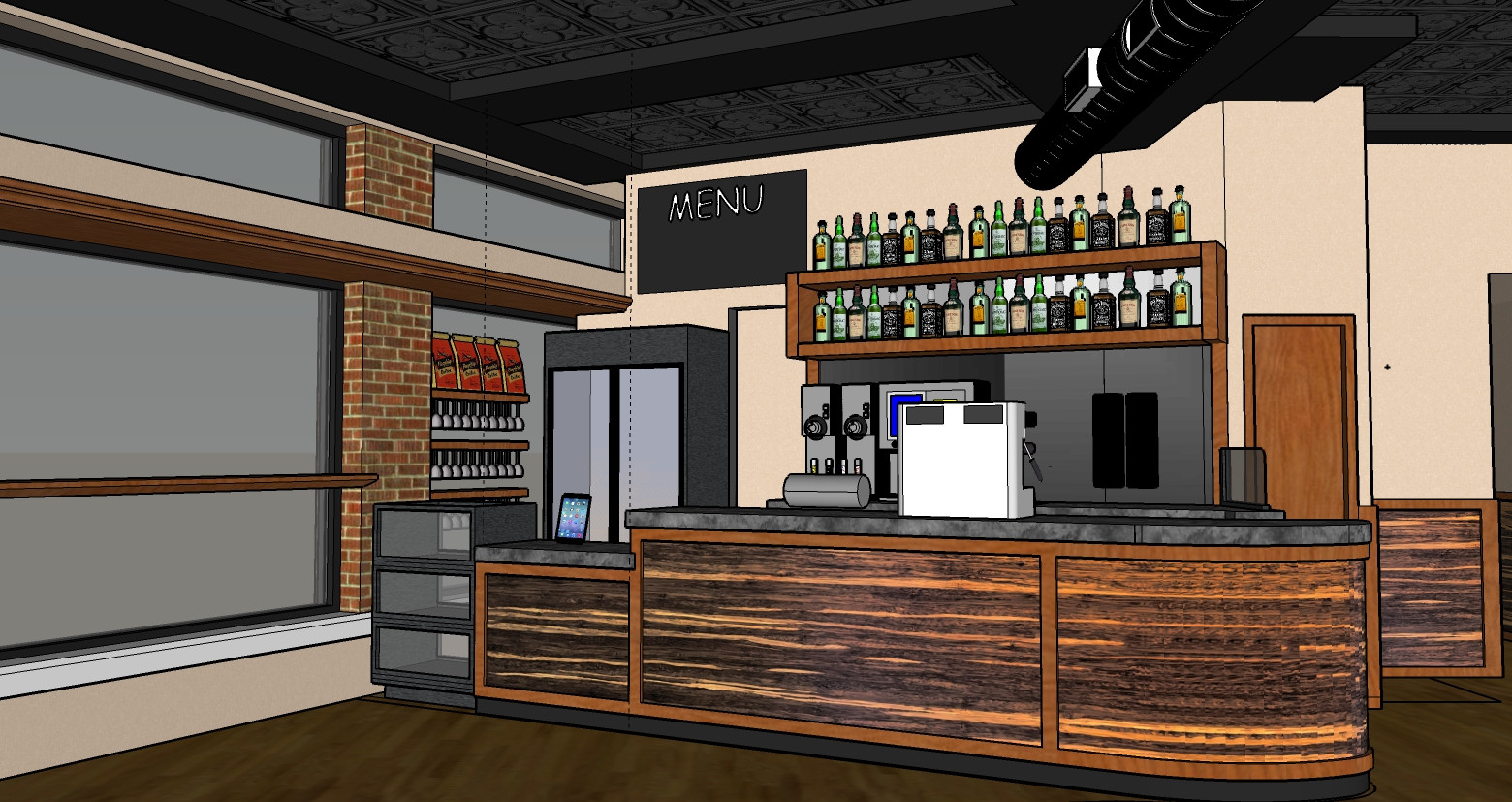 Square Root Cafe Proposed