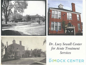 Historic Photographs of the Dr. Lucy Sewall Center for Acute Treatment Services