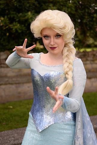 The Ice Queen bringing magic!