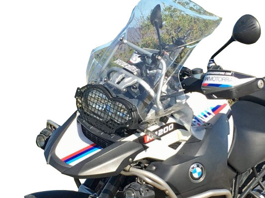 BMW R1200GS Motorcycle Headlight Cover Guard Protector Grille 2004 - 2012
