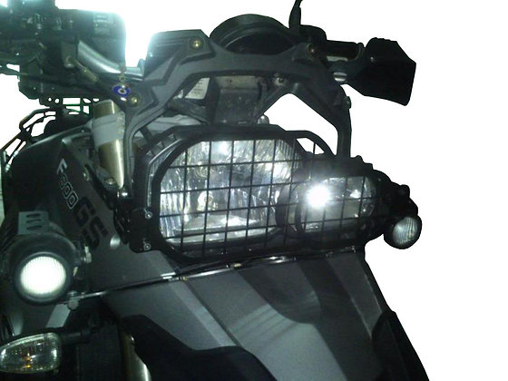 BMW F800GS Motorcycle Headlight Protector Grille