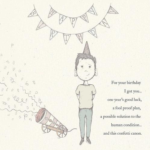 Birthday Boy Greetings Card