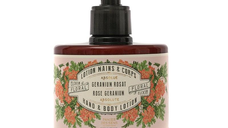 Rose Geranium Hand & Body Cream