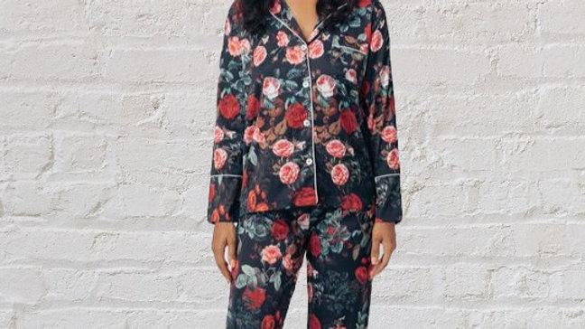 Wild Roses Pajama Set