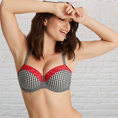 Gentle Lady Balcony Bra or Matching Briefs
