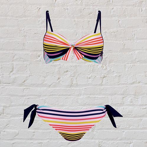 Stripe Bikini top or bottom