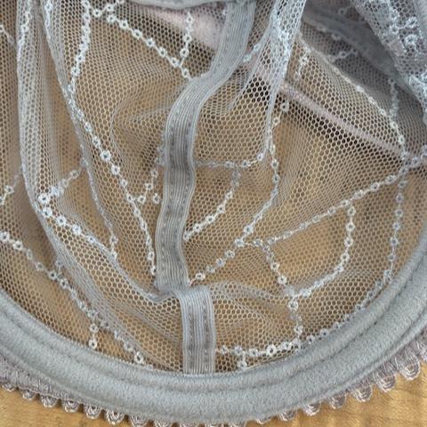 Inside of a $200 bra