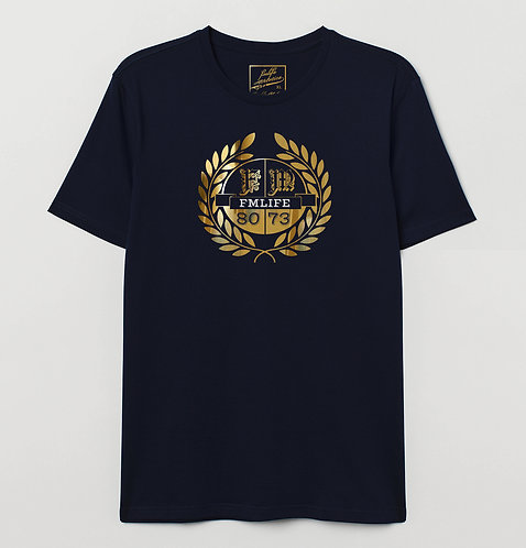 Cotton Gold Crest Tee