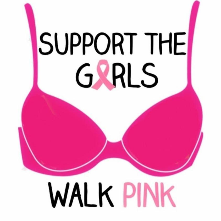 Walk Pink in Peddler's Village 2021