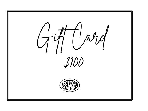 Cotton Company $100 Gift Card