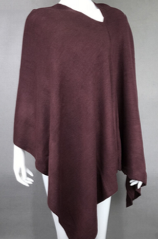 The Essential Poncho: Velvet Chocolate