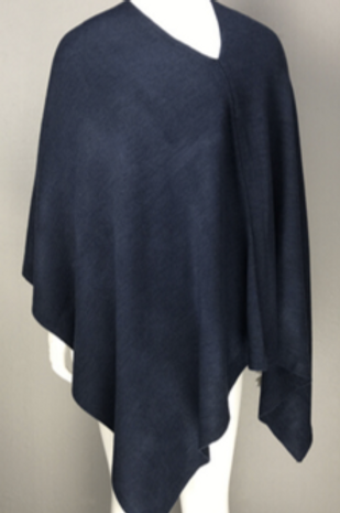 The Essential Poncho: Navy