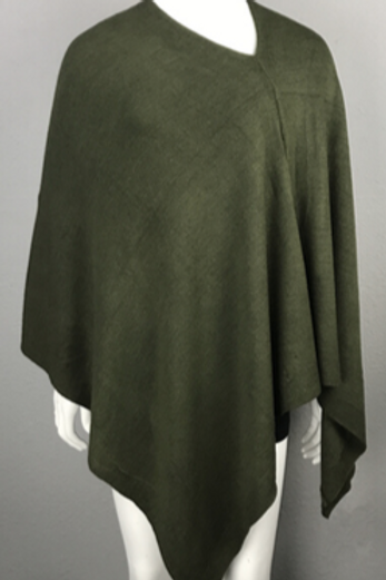 The Essential Poncho: Olive
