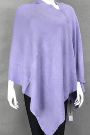 The Essential Poncho: Orchid Purple