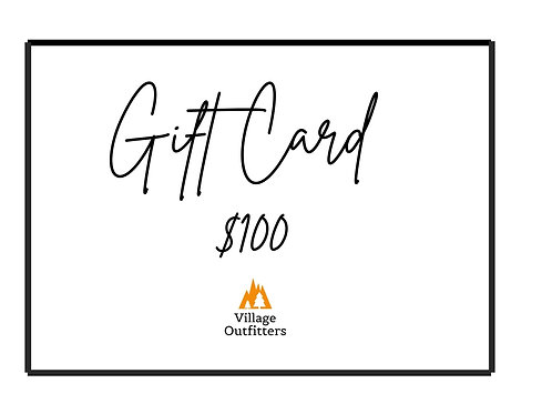 Village Outfitters $100 Gift Card