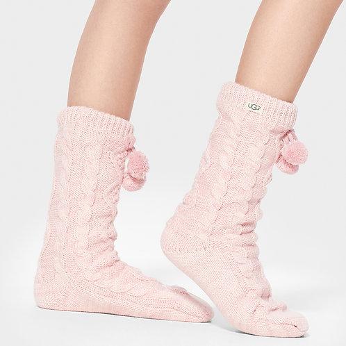 UGG | Pom Pom Fleece Lined Crew Sock
