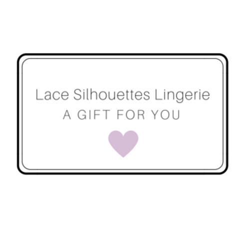 Lace Silhouettes Gift Card