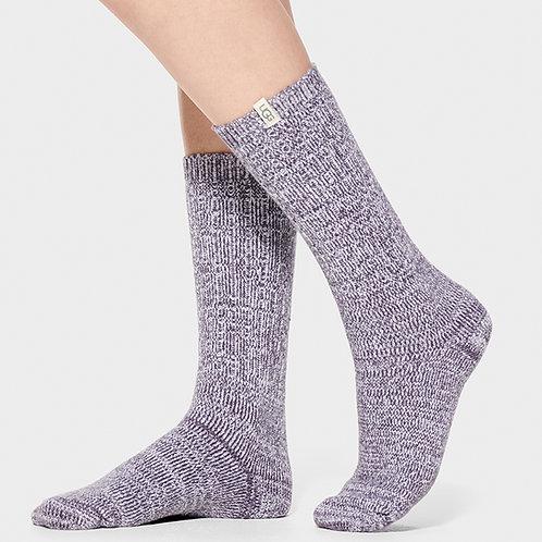 UGG | Women's Rib Knit Slouchy Crew Sock