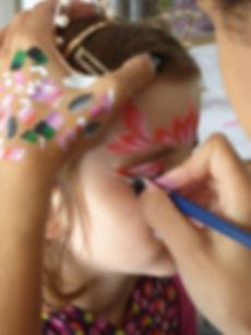 maquilleuse enfant