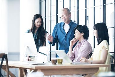 Creatives discute progetto