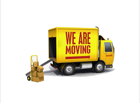 Moving Locations, Temporarily Closed