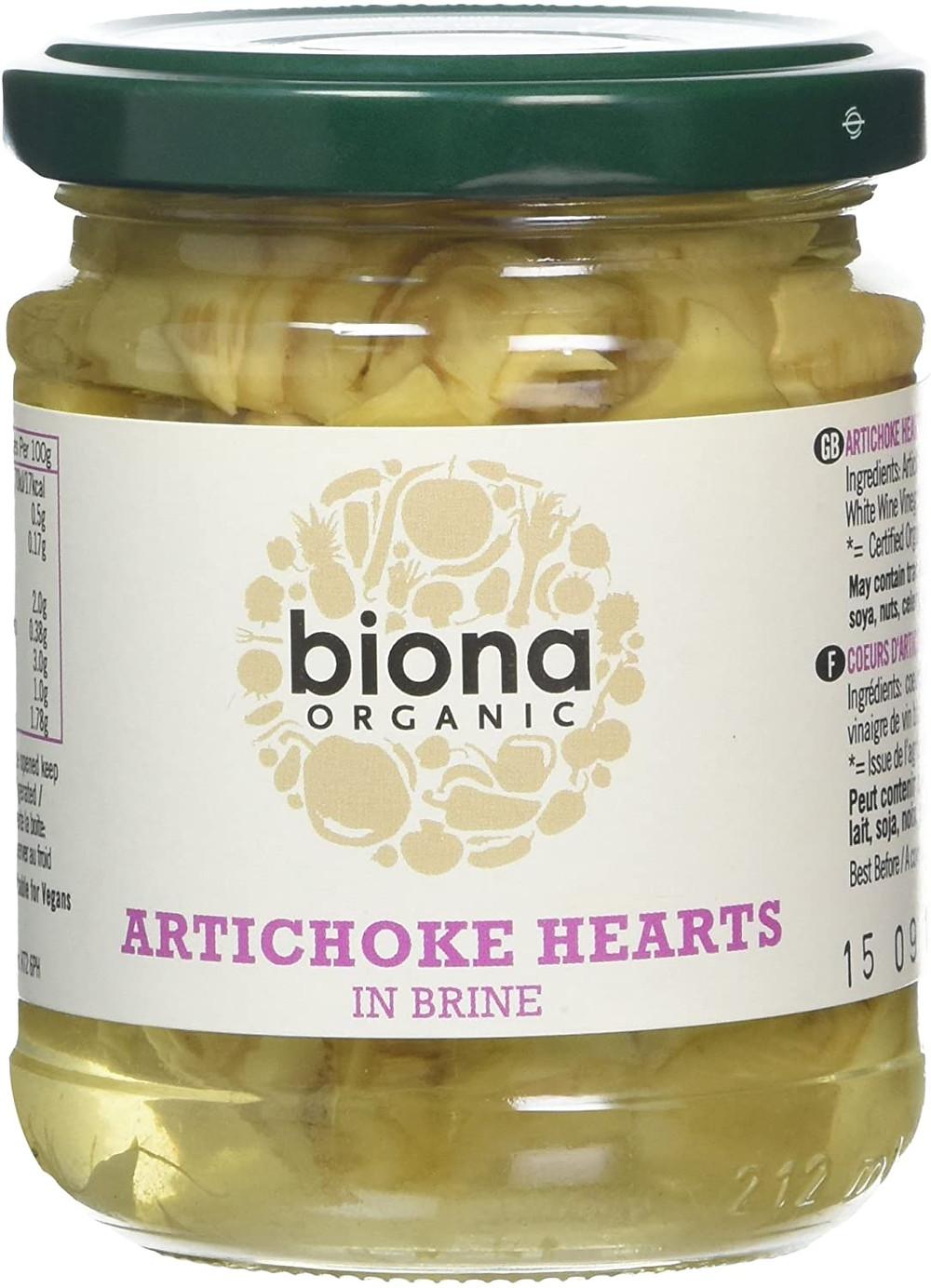 Biona Organic Artichoke Hearts