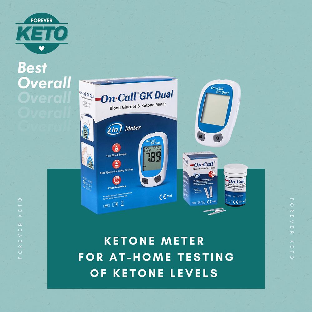 On Call GK Dual Function Blood Ketone Meter