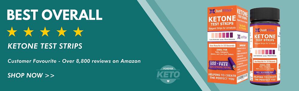 Ketone Test Strips - Urine Test for Ketones - Forever Keto
